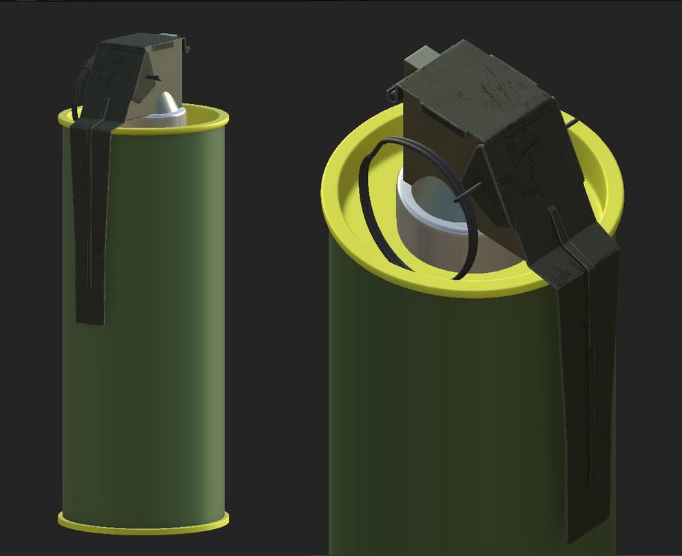 M18 smoke grenade textured by mjack1 on DeviantArt