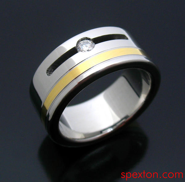 Mock Tension Ring by Spexton