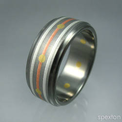 'Wesberry' Titanium Ring by Spexton