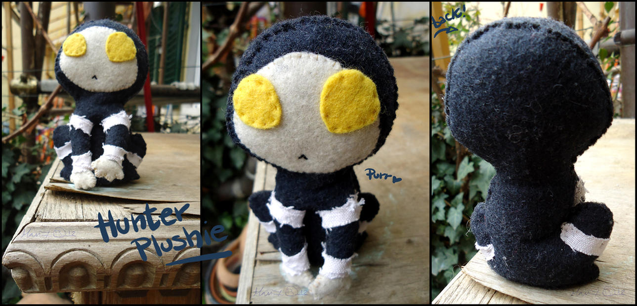 Hunter Plushie by PiumaRossa