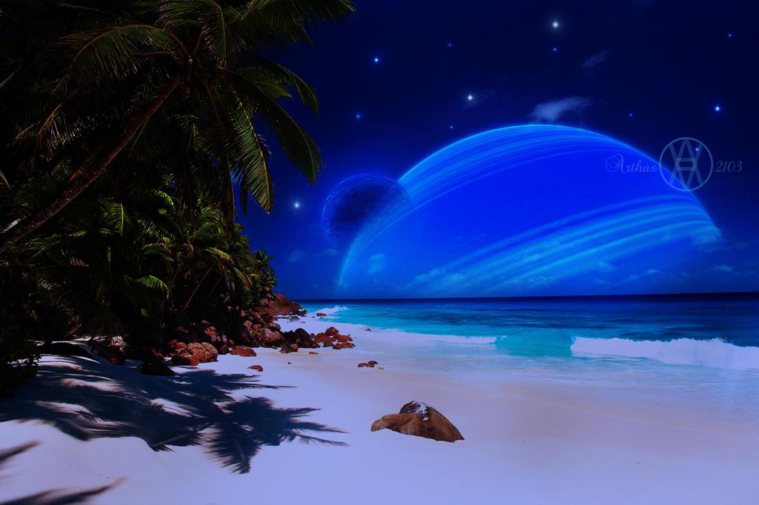 alien beach by arthas2103 on deviantart