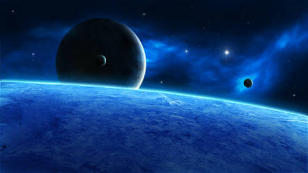 Orbiting by arthas2103