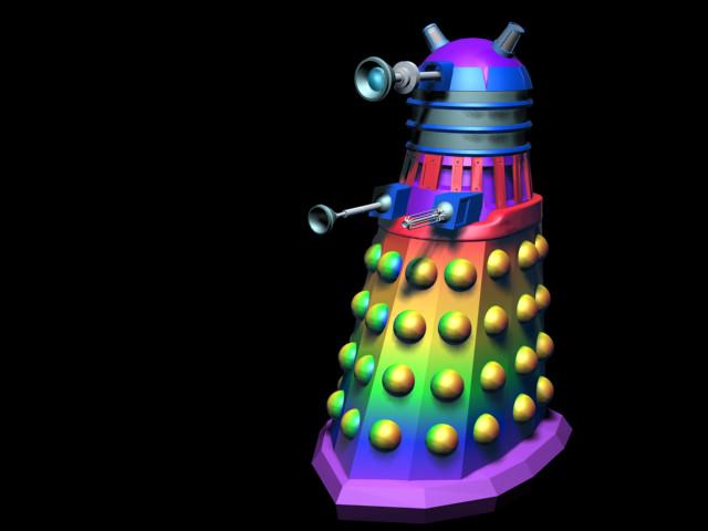 Gay Pride Dalek
