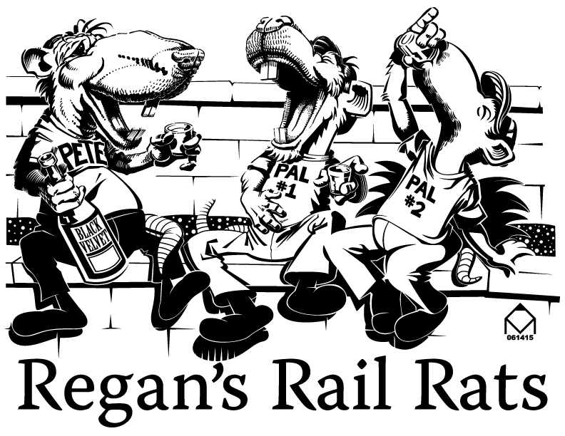 Regans Rail Rats by ValliantEffort
