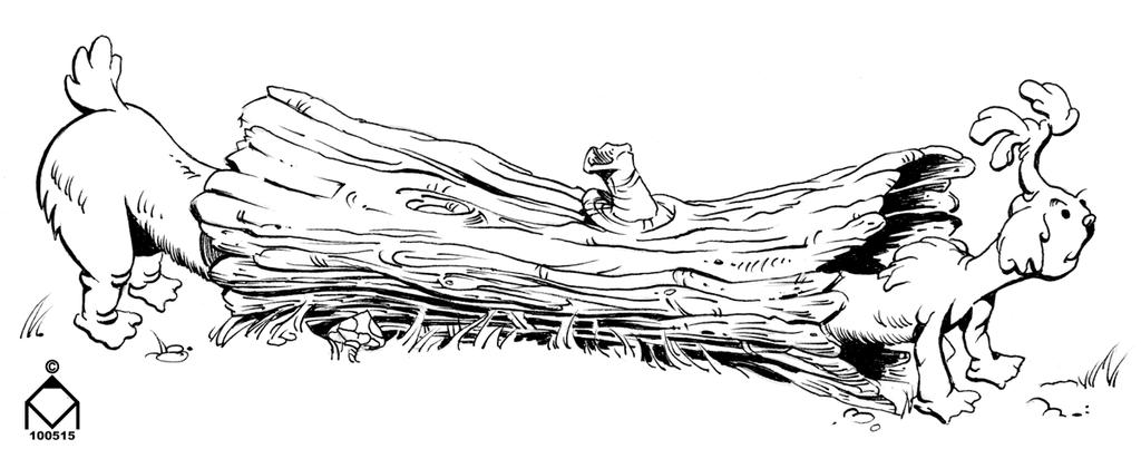 Log Dog by ValliantEffort
