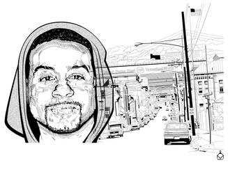 Face Street Scene by ValliantEffort