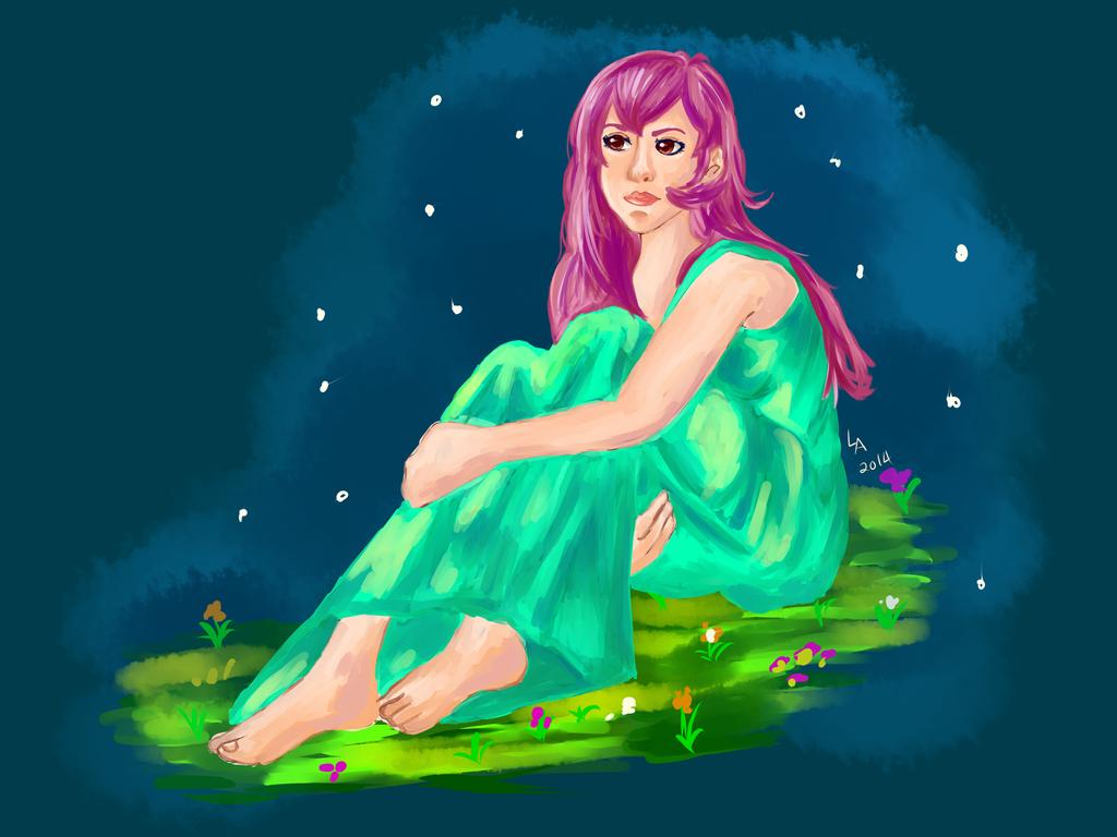 Maiden from a starry sky by jaikahiwatari90