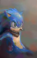 Hey it's Sonic! by uzuoh