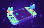Animal Crossing - Froggy tribute