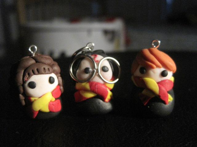 harry, ron, and hermione by TheQueenofSoap