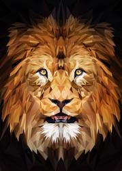Lion Low Poly