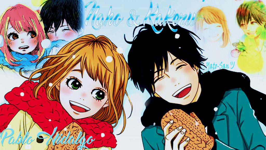 naho y kakeru orange wallpaper pedido  by yatosan23 daavjfj