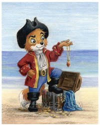 Pastblast: Mini-Pirate with Loot