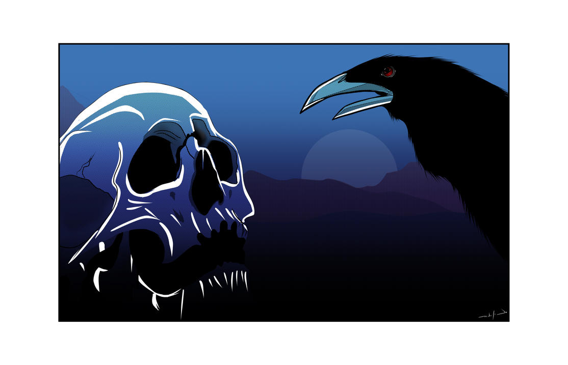 A Crow Left Of The Murder by edusacramento on DeviantArt A Crow Left Of The Murder