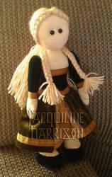Renaissance Girl Rag Doll