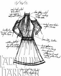 A Dress A Day 15 June 15 by AshenArtifice