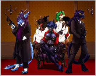 Like a Mob Boss by fayde