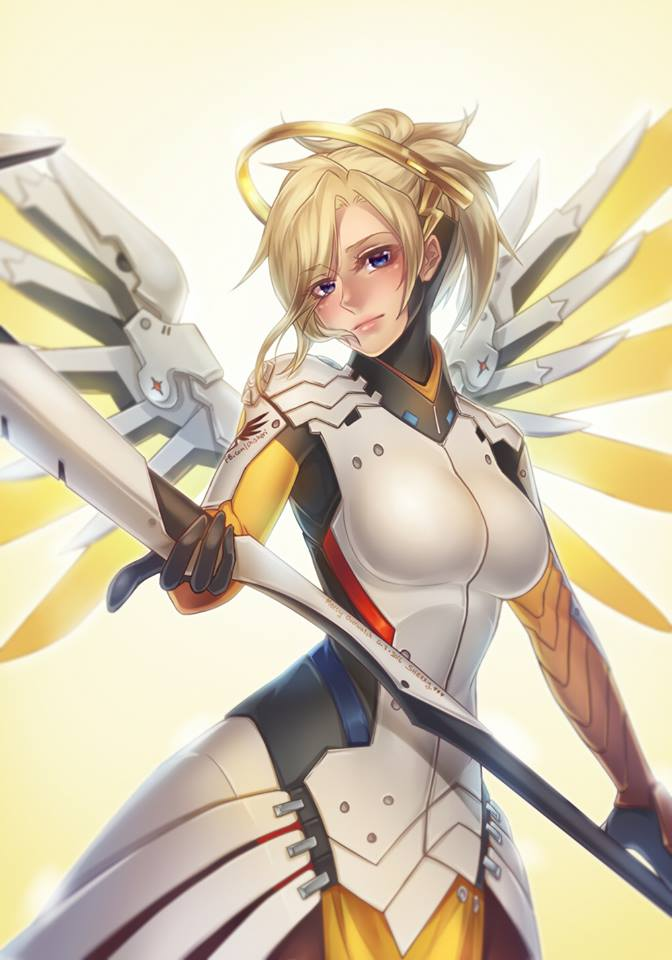 Overwatch : Mercy by ShiSherry