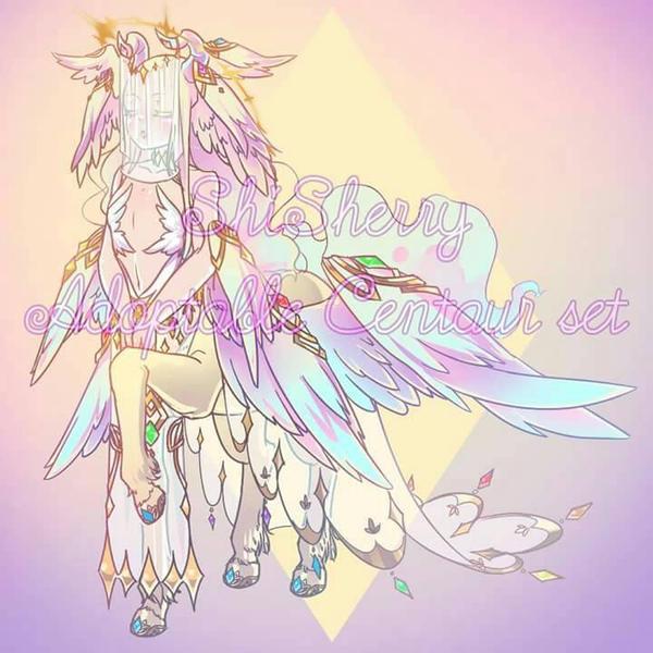 [ Adoptable - Close ] Centaur set 02 by ShiSherry