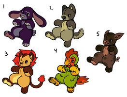 Plush batch OTA (OPEN 1/5) by PizzzaBagels