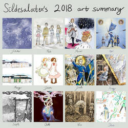 2018 Art Summary by Sildesalaten