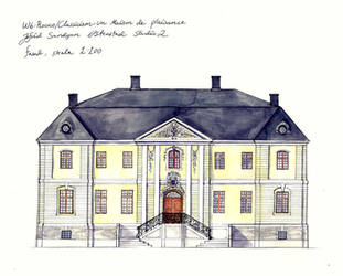 Rococo facade by Sildesalaten