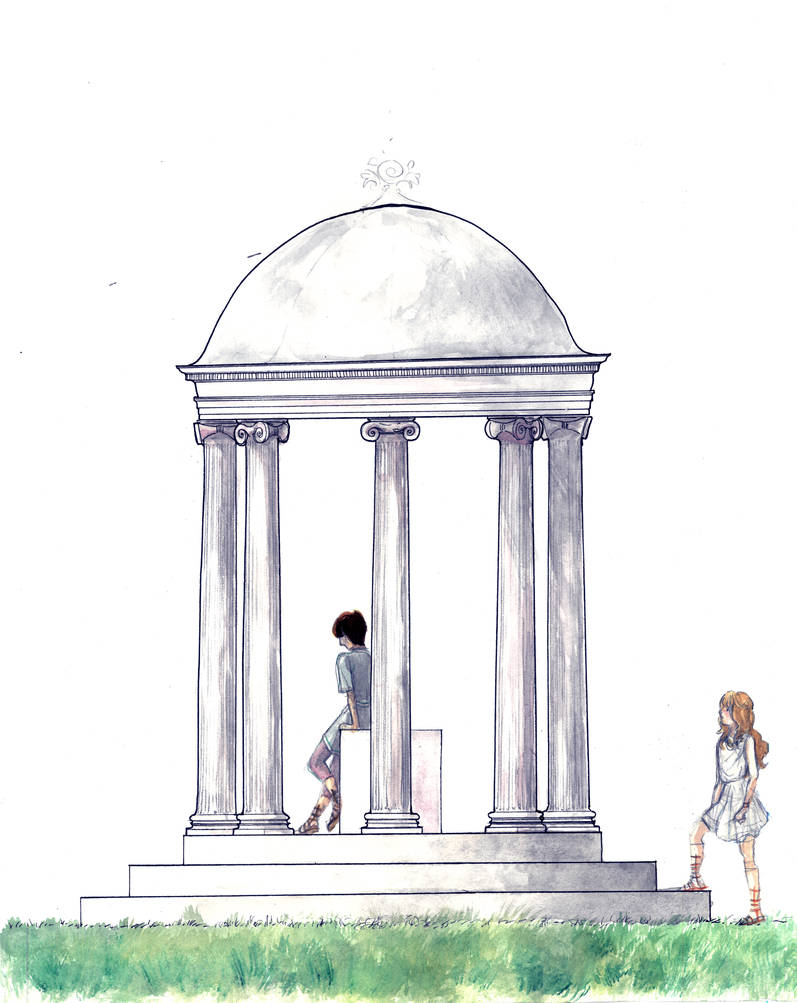 Minimalist Temple by Sildesalaten