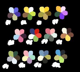 Spring Palettes by Sildesalaten