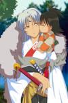 Rin's kiss to Sesshomaru