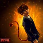 Ryeowook DEVIL [fanart] by AddyBarabashkaLee