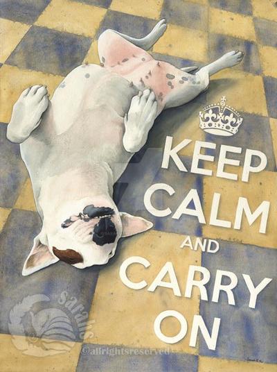 Keep Calm by saraquarelle
