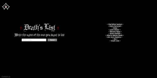 Death's List