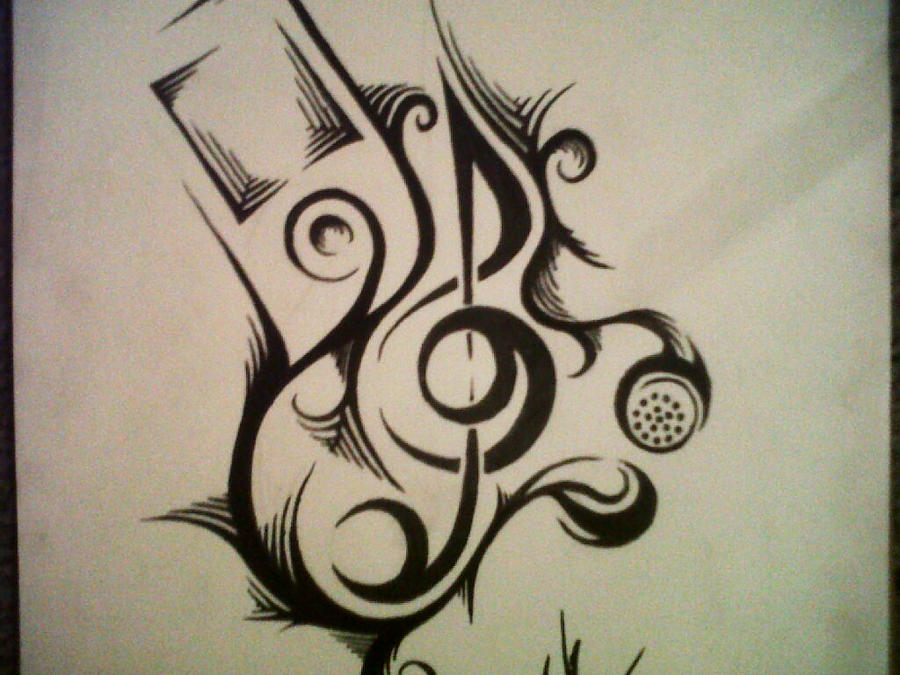 the gallery for gt dj headphone tattoos