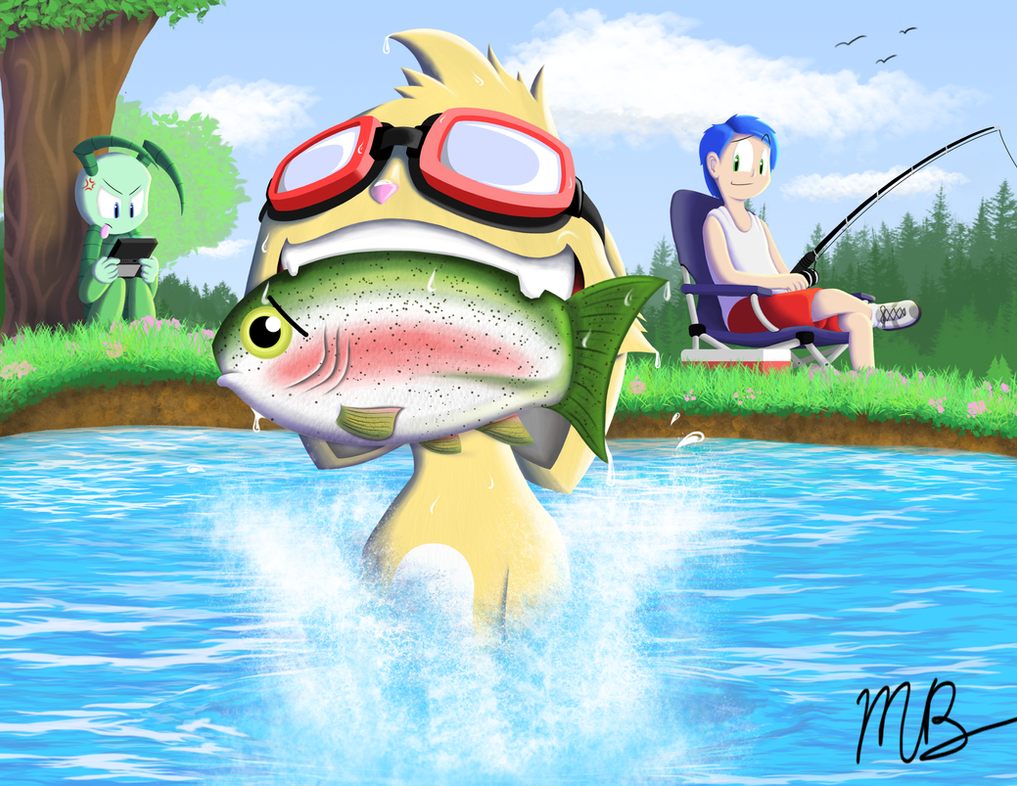 Orion Goes Fishing by megabro16