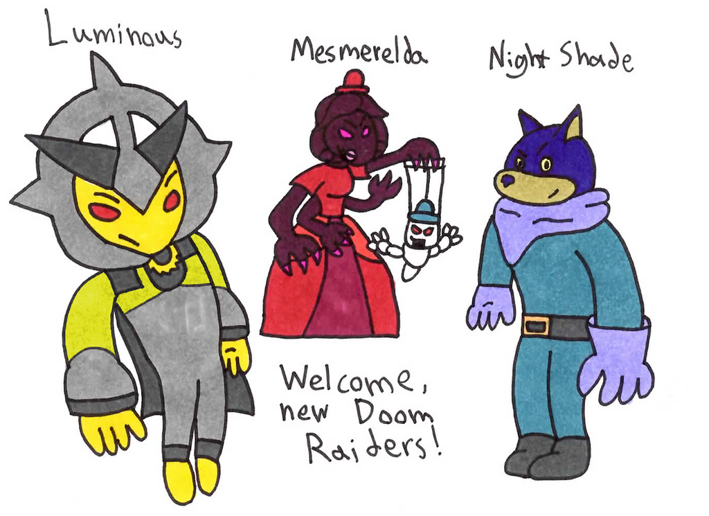 Welcome New Doom Raiders! by AsktheDoomRaiders on DeviantArt