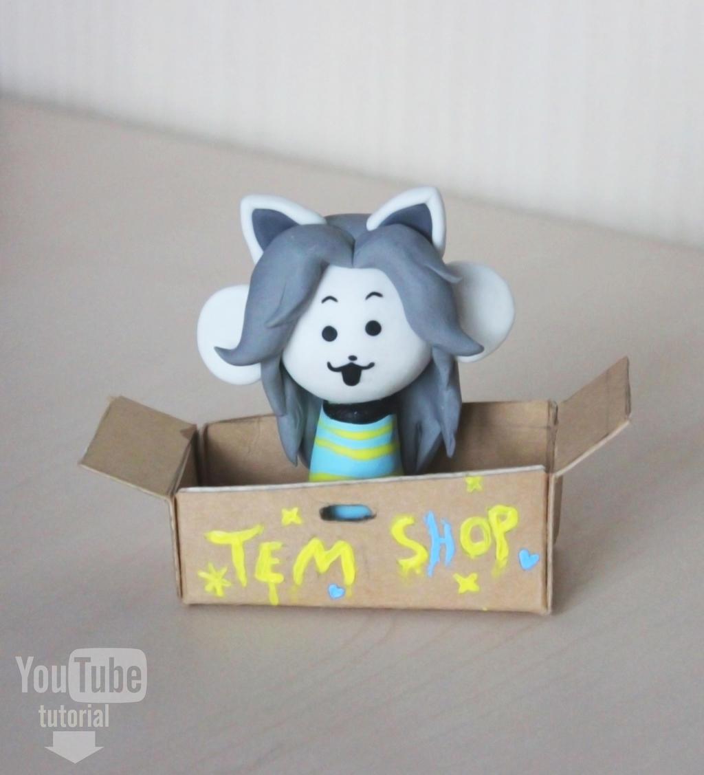 Undertale - Temmie | Video Tutorial by DewberryART