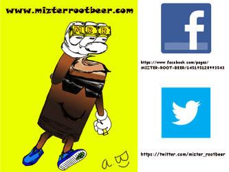VISIT ME ON THE WEB AT www.mizterrootbeer.com by MIZTER-ROOTBEER