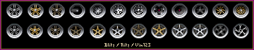 Rims for pixel cars by Megasxlrfan5