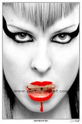 Razorblade Kiss by heartagram