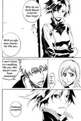 Dogs vs Bleach pg1 by Ashirou