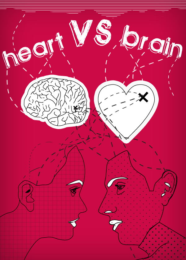 The Rule of Balance -- Logical Mind vs. Emotional Heart