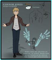 Connor Jones - ref sheet 2018 by Aerisopteryx