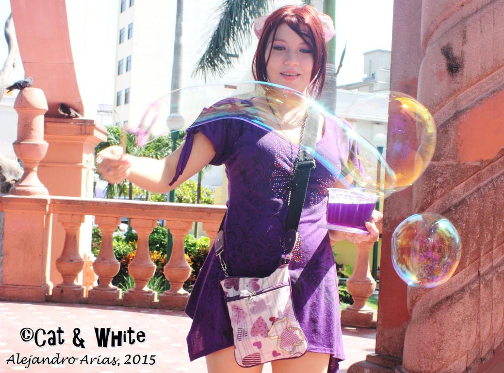 Bubble Pop Art by Cat-n-White