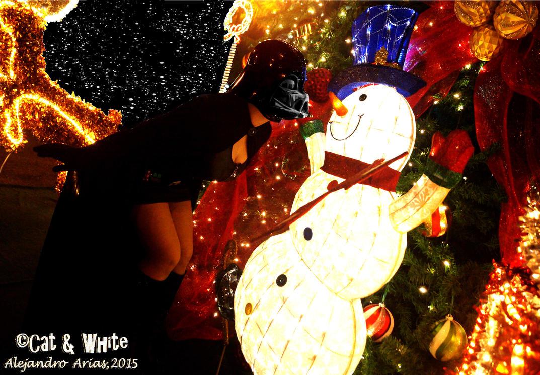 Darth Frosty by Cat-n-White