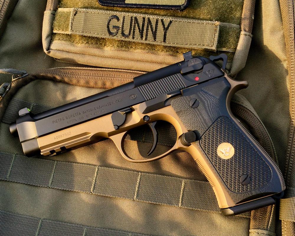 Beretta 92A1 by NFIDLART