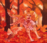 HC Day 2 - Jumping into piles of leaves