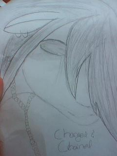 Changed and Chained - Lilac by Drawing-Forever