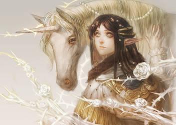 Pixiv-The Unicorn by E09ETM