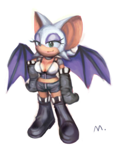 Rouge The Bat Costume SA2 Rouge outfit by E0...