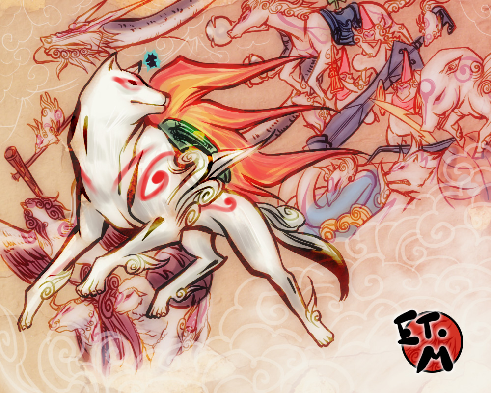 Okami-we r around the world by E09ETM
